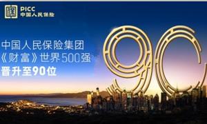 新人保新跨越  中国人保跃居2021年《财富》世界500强第90位